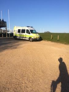 The un-nerving ambulance