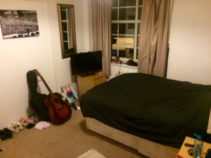 The new room...